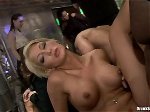 Bibi Fox with hotty pals filled with super hot cum