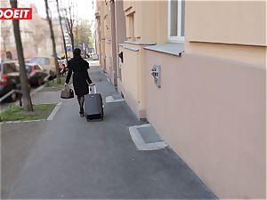 LETSDOEIT - Francys backside torn up hard-core by plane possessor