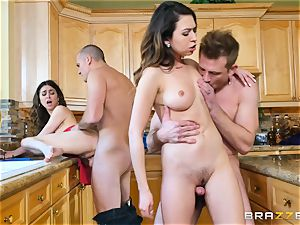 Riley Reid and Melissa Moore play with each others boyfriends