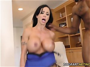 love buttons Jade is prepared For assfuck intercourse and double penetration With bbc