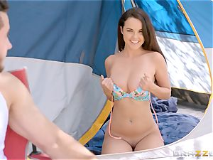 Dillion Harper blasts firm as Danny Mountain plows inwards her
