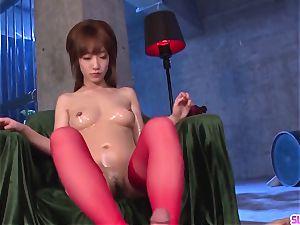 Sana Anzyu would enjoy a big flow up her needy mouth